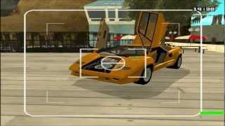 GTA San Andreas Lamborghini Countach 25th Anniversary Mod Profile