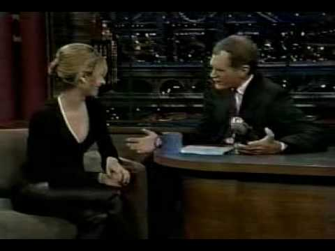 Sarah Michelle Gellar on The Late Show with David Letterman 1997