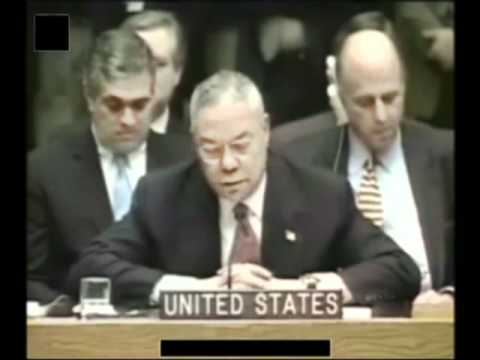 General Colin Powell UN Speech on Iraq Part 2of5