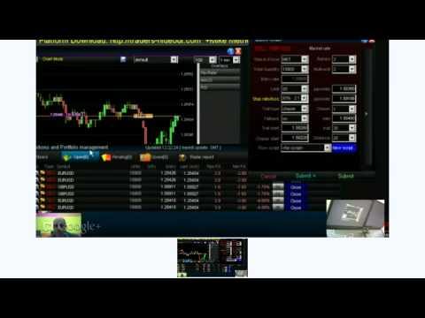 Live forex trading platform