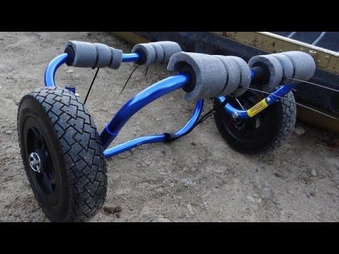 All terrain canoe & kayak cart - Nemo EXTREMO