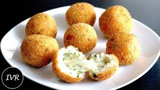 Bread Cheese Balls Recipe | Cheese Filled Potato Balls | Fried Potato Cheese Balls