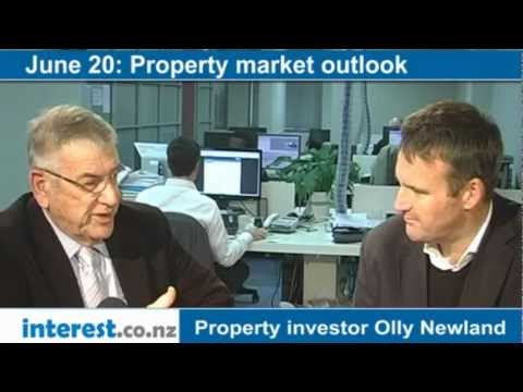 Property market outlook: Property investor Olly Newland with Bernard Hickey