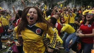 2014 World Cup: Anthem of Colombia by 50,000 fans