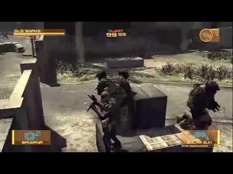メタルギアソリッド4 戦場を駆ける戦士達