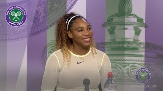 Serena Williams Semi-Final Press Conference Wimbledon 2019