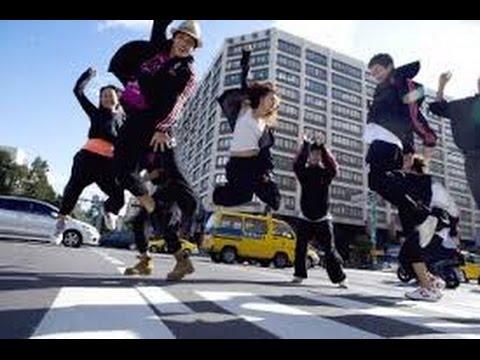 Очень крутые уличные танцы в Париже