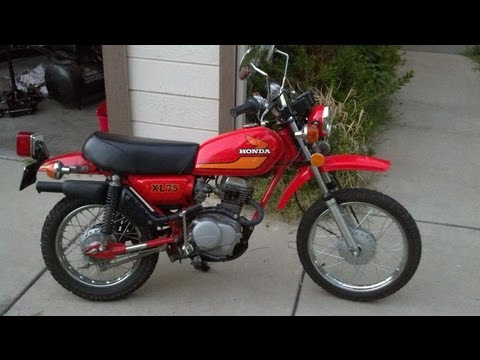 Honda XL75 Best Pit Bike / Mini Bike in the World and Street Road Legal
