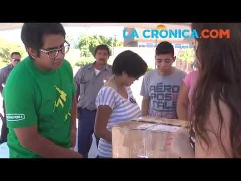Centros de acopio en Mexicali.