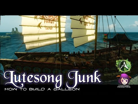 ★ ArcheAge ★ - How to Build a Lutesong Junk