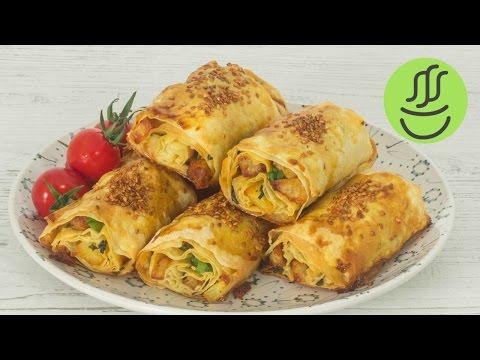 Patatesli Börek - ÇITIR ÇITIR Yufkadan Börek Tarifi - Patatesli Börek Nasıl Yapılır?