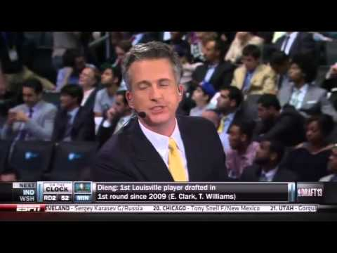 NBA Draft 2013: Doc Rivers' thoughts on Bill Simmons // Things get awkward on live TV