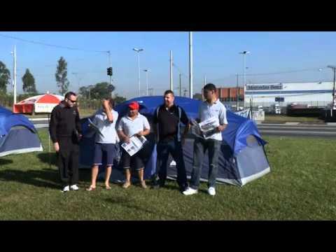 Brazil: Mercedes Benz workers protest 500 job cuts