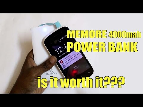 Memore 4000 Mah Power Bank Review | Android Buddy |