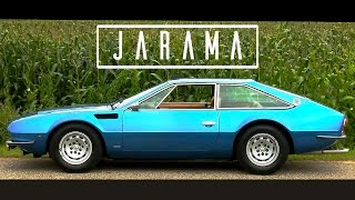 LAMBORGHINI 400 GT JARAMA S 1973 - Test drive in top gear - V12 sound - GoPro | SCC TV
