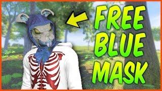 H1Z1 TIPS - 100% GUARANTEED FREE BLUE BUNNY MASK! (H1Z1 KOTK FREE SKINS)