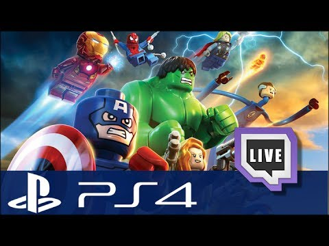 LEGO Marvel Super Heroes - Gameplay duo Live Twitch HD