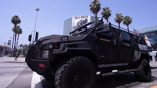 Uber and Call of Duty®: Advanced Warfare Teamed Up at E3 2014