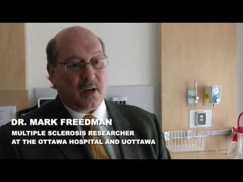 Dr. Mark Freedman, multiple sclerosis researcher at The Ottawa Hospital and uOttawa