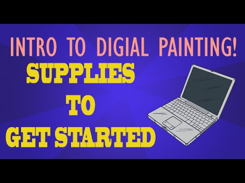Intro To Digital Painting - The Tools - Easy Things To Draw