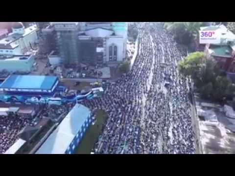 Sholat idul fitri 1 Syawal 1436H, 17 Juli 2015 di Rusia.