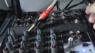How to set up a basic audio mixer (Audio mixer tutorial 1)