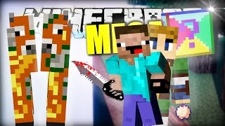 Minecraft MEGA Lucky Blocks Battle - Brüderlich ZERTEILT