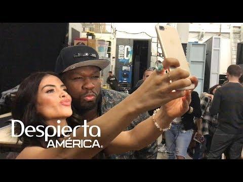 50 Cent quiso besar a Jessica Cediel detrás de cámaras