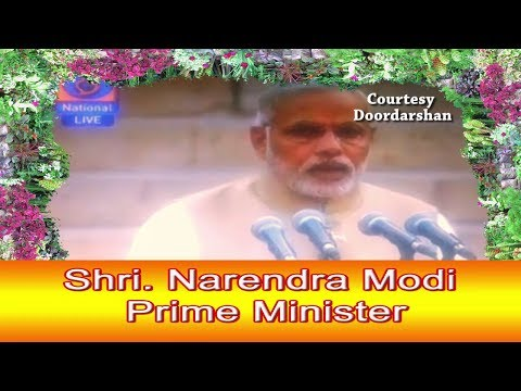 Swearing in Ceremony of Shri. Narendra Modi as Prime Minister of India