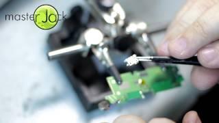 Как разобрать телефон Lenovo A850 и заменить USB разъем