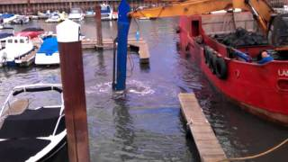 Exmouth harbour dredging 2011 part 4 of 4