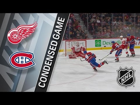 Detroit Red Wings vs Montreal Canadiens – Dec. 02, 2017 | Game Highlights | NHL 2017/18. Обзор матча
