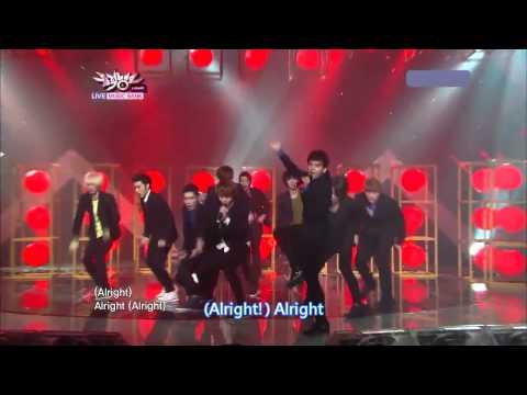 【hd繁中字】110805 Super Junior - Mr.simple Live  Comeback Stage video