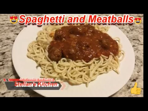 Spaghetti | Spagatties | spaghetti recipe | spaghetti and meatballs | Stellan's Kitchen