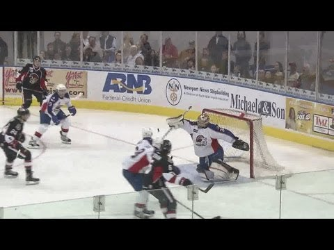 Norfolk Admirals Blank Senators, Complete Weekend Sweep
