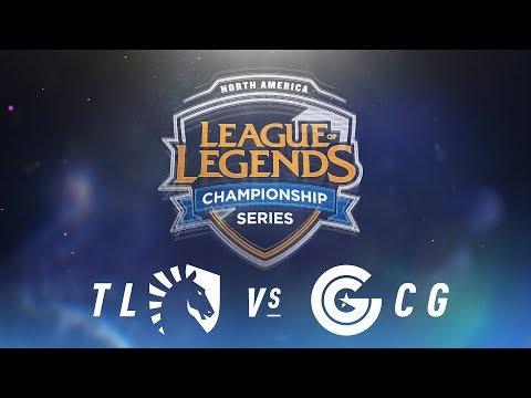 TL vs. CG - Week 2 Day 2 | NA LCS Spring Split | Team Liquid vs. Clutch Gaming(2018)