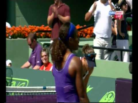 WTA Miami 2012 - Serena Williams def. Sam Stosur 7-5 6-3