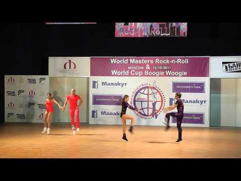 Federl - Scherer (GER) & Batyrshin - Mukhina (RUS) - World Masters Moskau 2011