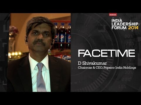 D Shivakumar, Chairman & CEO, Pepsico India Holdings