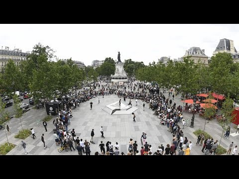 Republique, Paris - 'Get Stoned' with Volcom  - June 2018