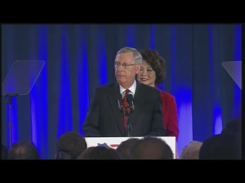 Mitch McConnell Acceptance Speech