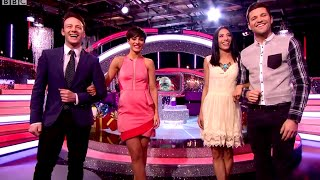 Frankie Bridge & Kevin Clifton - It Takes Two - 19th December 2014- (+Mark Wright & Karen Hauer)