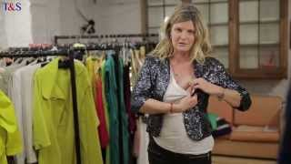 How To Wear Jackets If You've Got Big Boobs - Trinny & Susannah How To Style & Fashion Tips