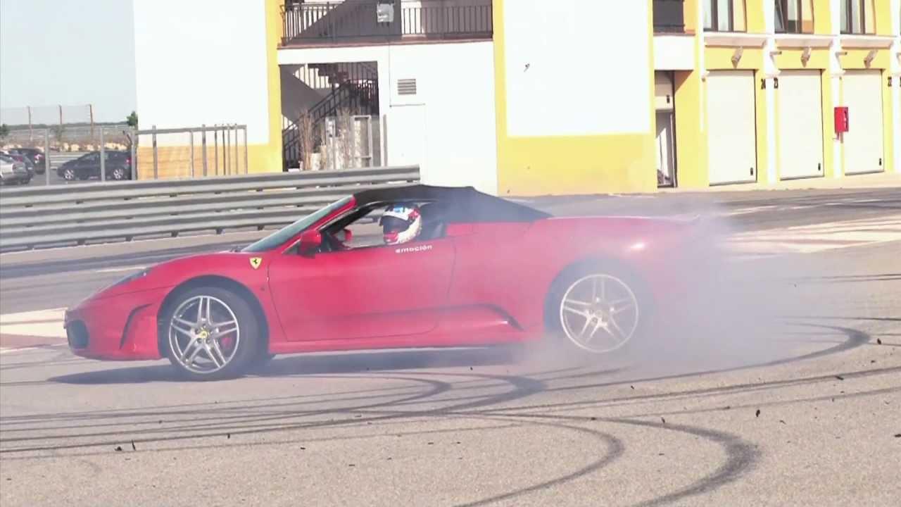 Ferrari F430 Drift And Donuts