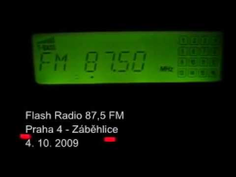 Flash Radio 87,5 FM - Prague, October 2009
