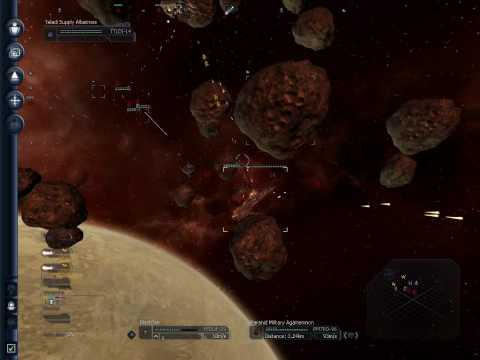 X3TC Gameplay - Capital ship fight 1v1
