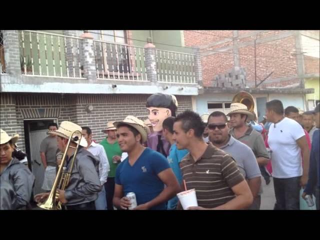 Fiestas San Pedro Tenango 2012  Banda Marinitos y Banda La Hermandad