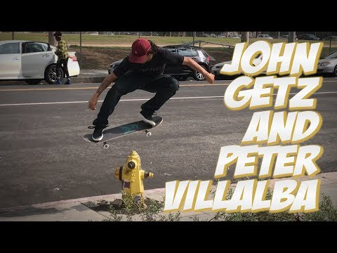JOHN GETZ AND PETER VILLALBA SKATE LOS ANGELES !!! - NKA VIDS -