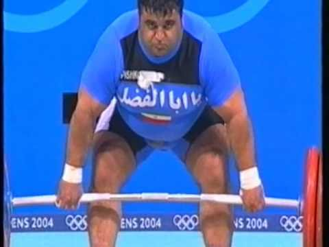 Olympic Weightlifting Athens 2004 Superheavyweight Clean and Jerk Image 1