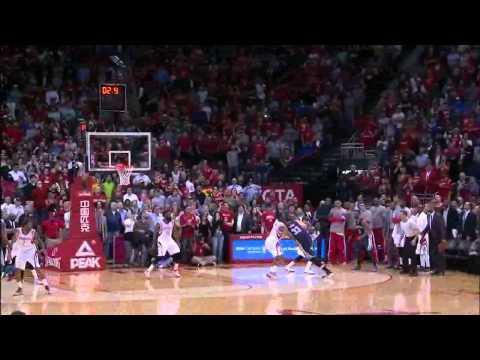 Marc Gasol Amazing Jumper (Memphis Grizzlies @ Houston Rockets - 04/03/2015)
